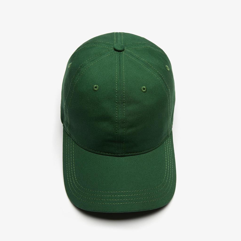 Mũ Lacoste Strap Cotton - Xanh lá cây - RK4709-51-132