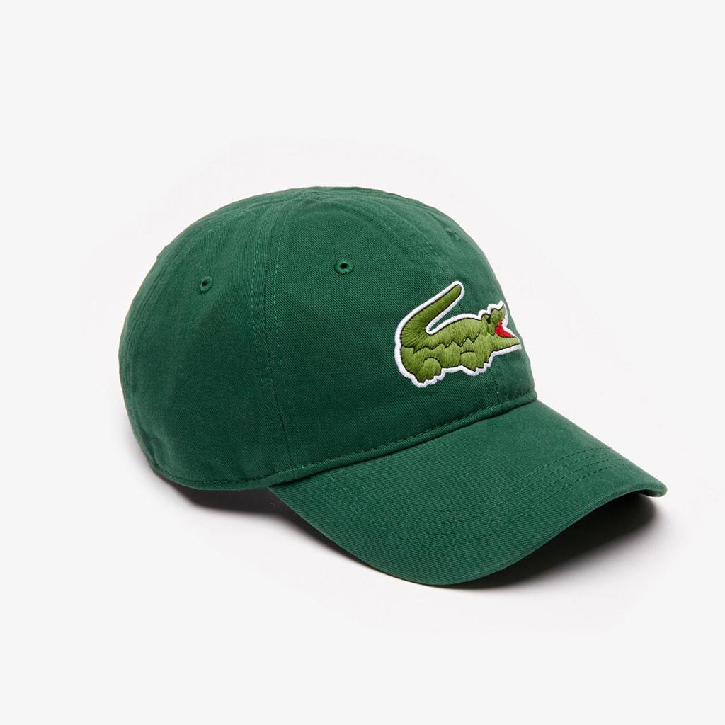 Mũ Lacoste Gabardine Big Crocodile (Xanh)