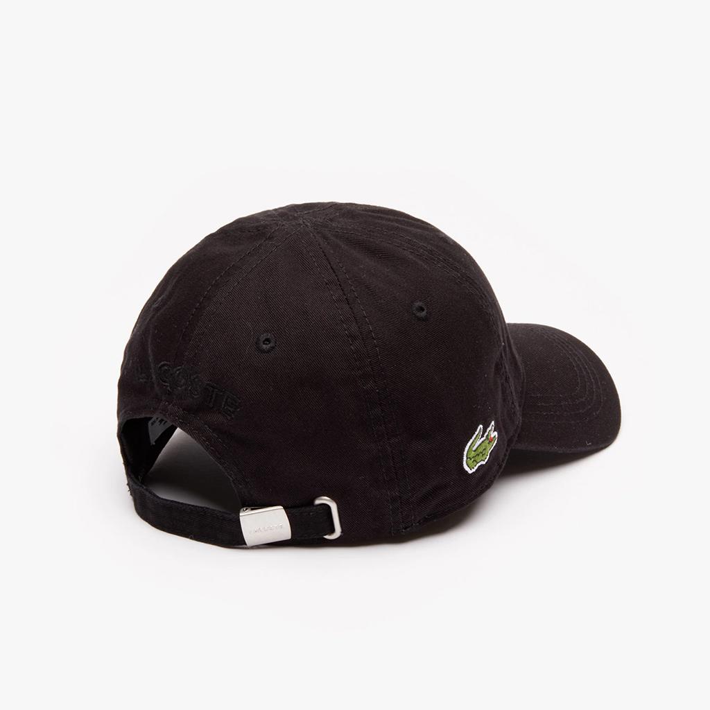 Mũ Lacoste Gabardine (Đen)