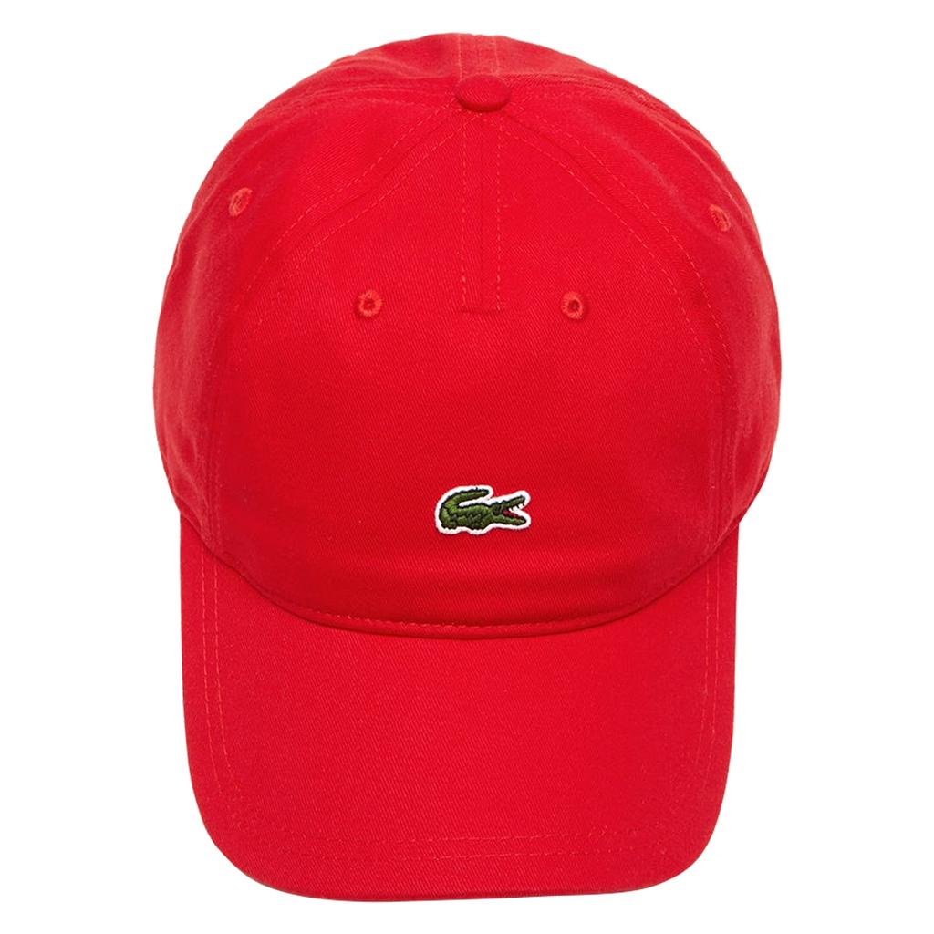Mũ Lacoste Gabardine Small Croc (Đỏ)