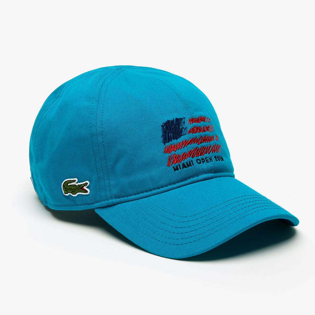 Mũ Lacoste SPORT Miami Open Edition – Xanh blue