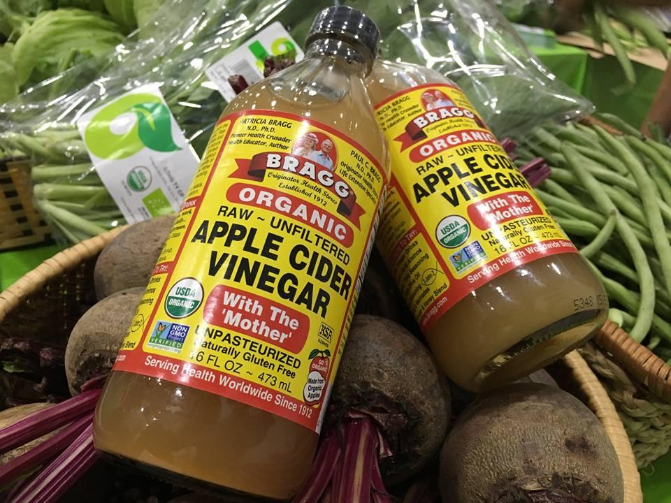 giấm táo hữu cơ bragg tại Organica