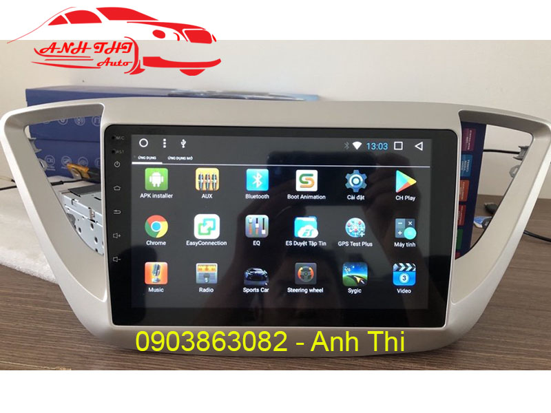 Đầu DVD android Accent 2018