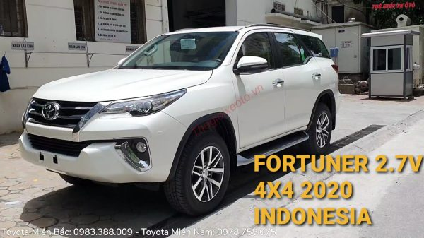 [VIDEO] Toyota Fortuner 2.7V 4x4 AT 2020 nhập khẩu Inodonesia 100%.!