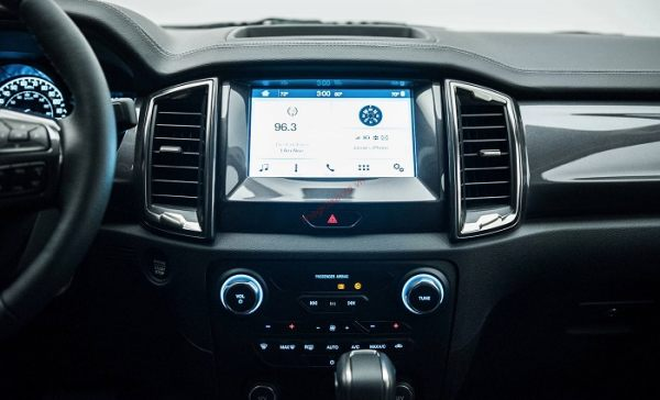 hệ thống giải trí bán tải ford ranger 2021
