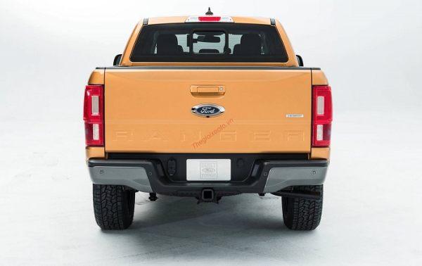 Đuôi xe bán tải Ford Ranger