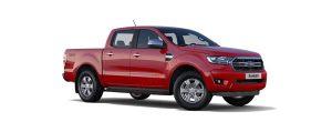 Ford Ranger màu đỏ tươi