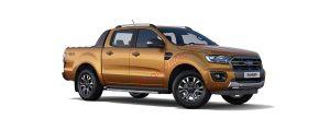 Ford Ranger màu cam