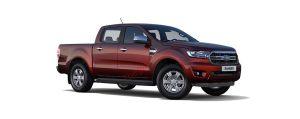 Ford Ranger màu đỏ Sunset