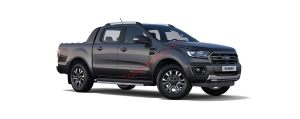 Ford Ranger màu xám
