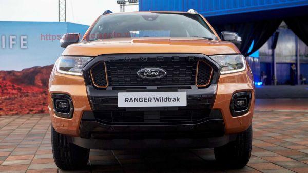 đầu xe Bán tải Ford Ranger 2021