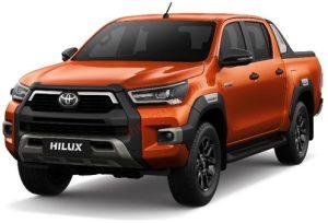 Toyota Hilux màu cam ánh kim (4R8)