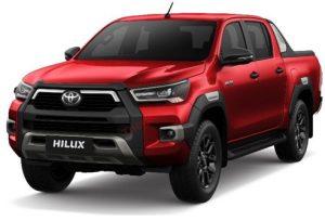 Toyota Hilux màu đỏ (3T6)