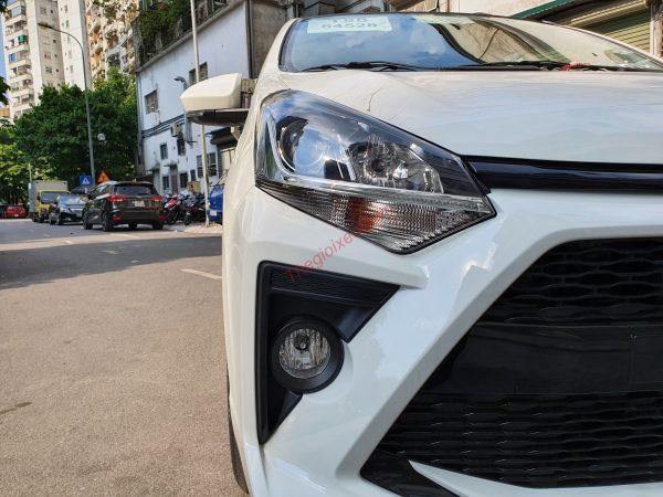 Cụm đèn pha trên Toyota Wigo
