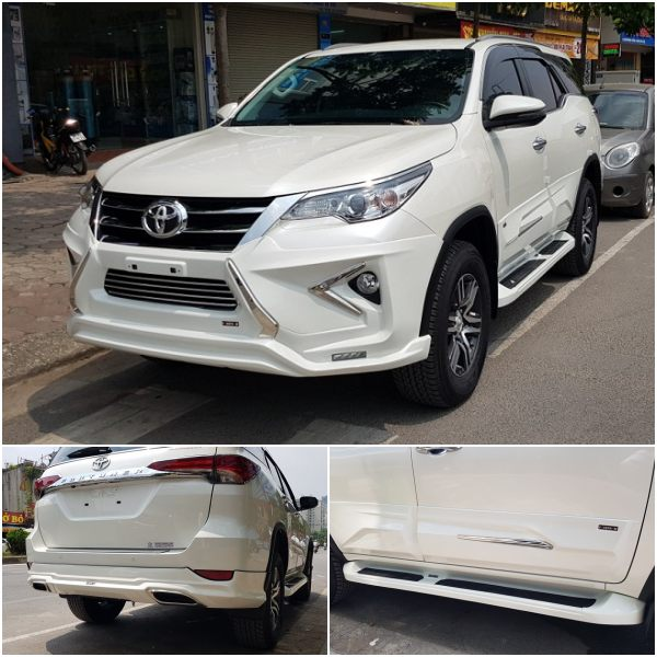 Fortuner độ Body kit Lexus bộ FreeForm