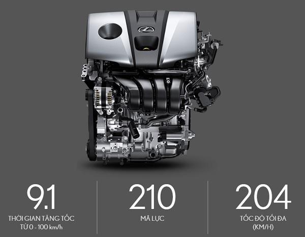 động cơ lexus es 250