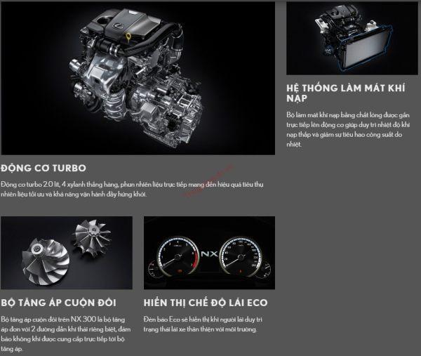 động cơ lexus nx300 2021
