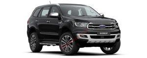 Ford Everest màu đen