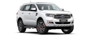 Ford Everest màu trắng