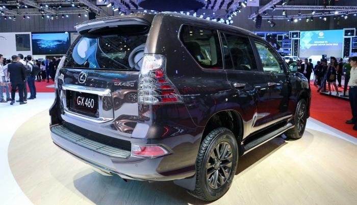 Đánh giá ngoại thất Lexus GX 460 2021