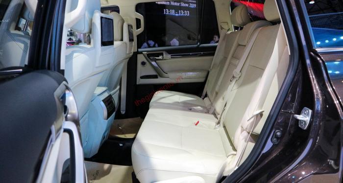 Đánh giá nội thất Lexus GX 460 2021