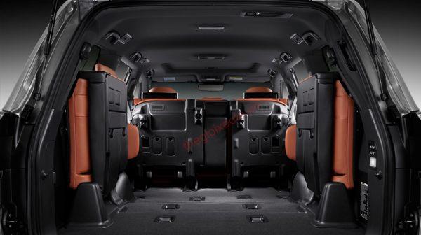 Đánh giá nội thất Lexus LX 570 2020