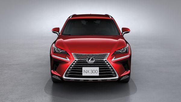 đầu xe lexus nx300 2021