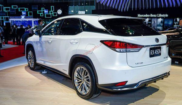 Đánh giá ngoại thất Lexus RX 450H 2020