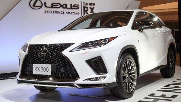 Đánh giá xe Lexus RX 300 2021