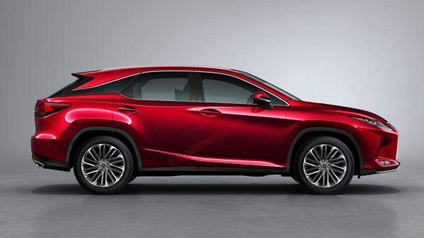 Ngoại thất Lexus RX350 và RX350L 2021