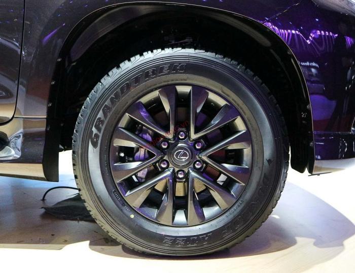 mâm xe lexus gx 460 2021