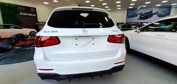 Đuôi xe Mercedes GLC 300 2020
