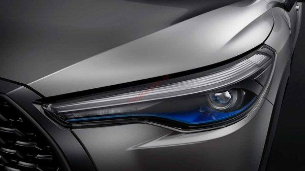 đèn pha Toyota Corolla Cross 2021