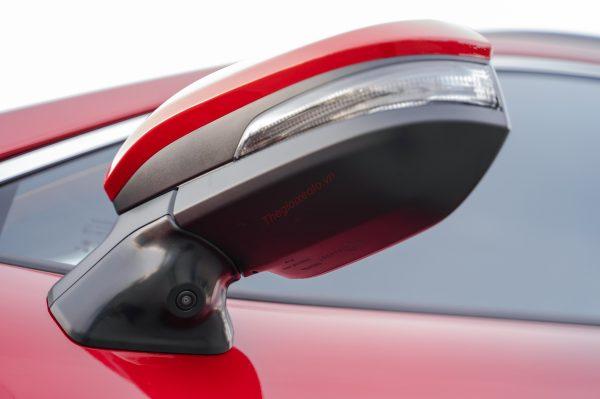 gương chiếu hậu Corolla Cross 2021