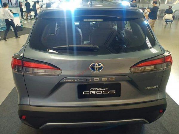 đuôi xe Toyota Corolla Cross 2021
