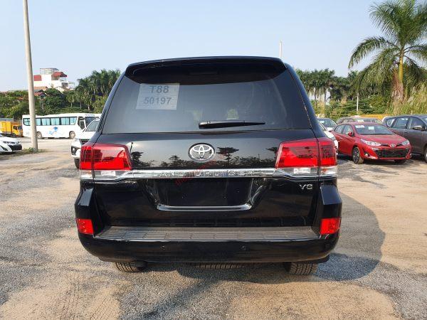 Hình ảnh Toyota Land Cruiser 2020 màu đen