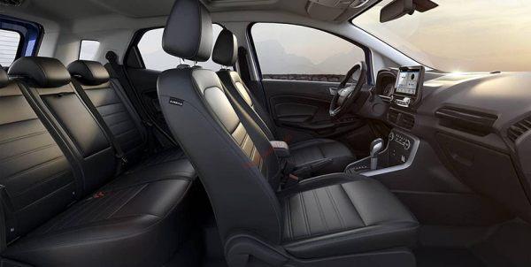 Không gian nội thất xe Ford Ecosport 2020