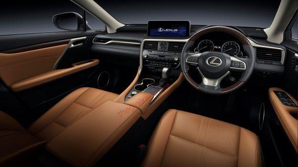 Nội thất Lexus RX350 và RX350L 2021