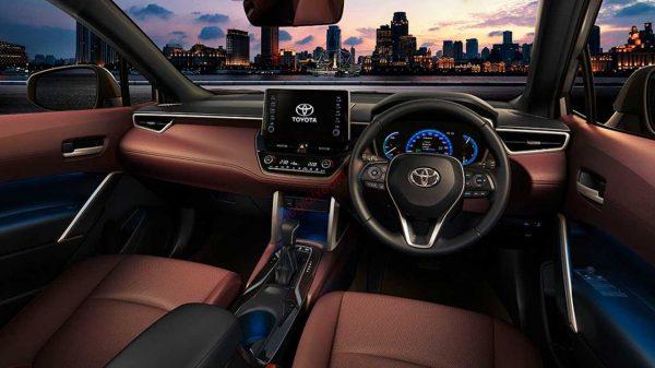 nội thất Toyota Corolla Cross 2021