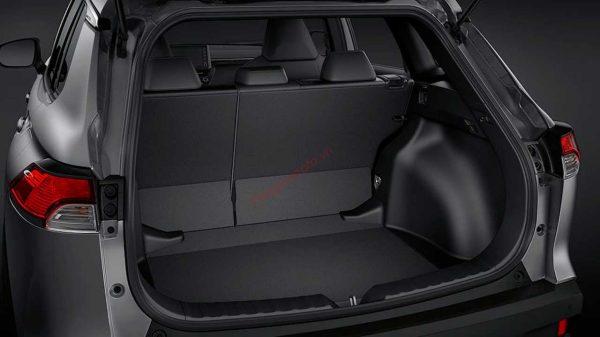 khoang hành lý Toyota Corolla Cross 2021