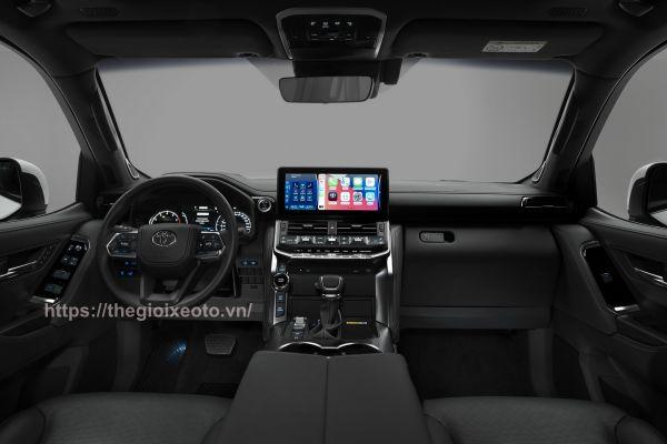 thiết kế nội thất xe Land Cruiser 2022