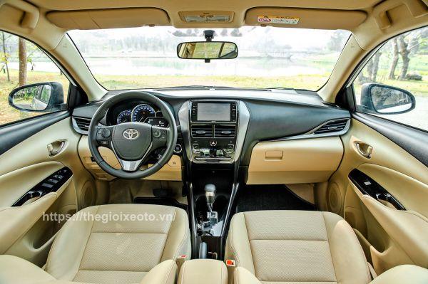 Bảng taplo xe Toyota Vios 2021