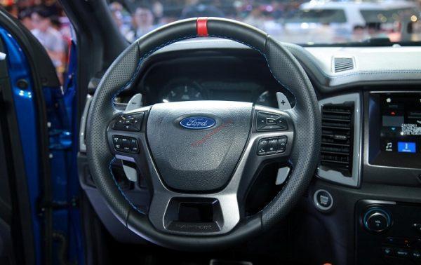 vô lăng Bán tải Ford Ranger Raptor 2020