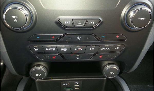 Hệ thống điều hòa tự động ford everest