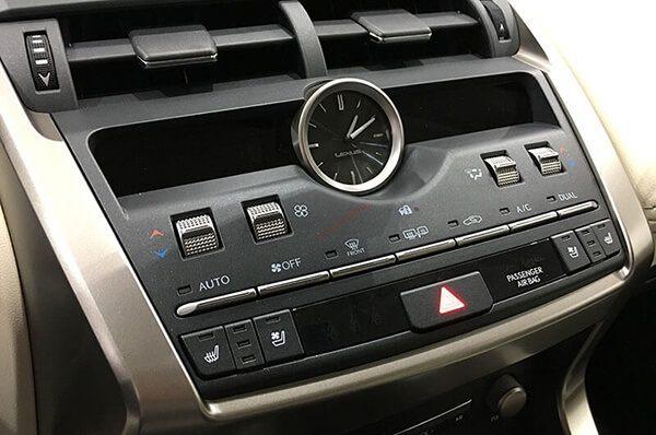 hệ thống điều hòa lexus nx300