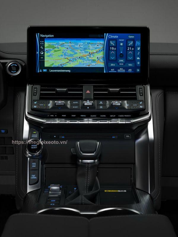 hệ thống giải trí Toyota Land Cruiser 2022