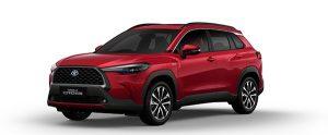 Corolla Cross màu đỏ (3R3)