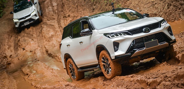 thiết kế Toyota Fortuner 2021