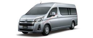 Toyota Hiace màu bạc (1E7)