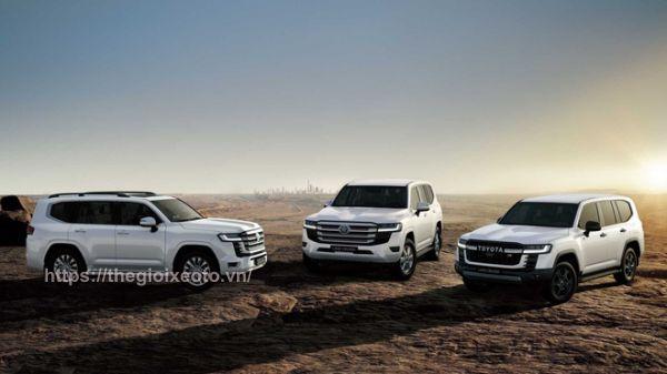 Đánh giá xe Toyota Land Cruiser 2022
